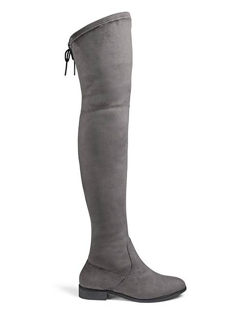384f3e301b1 Nicole Boots Ex Wide Fit Standard Calf