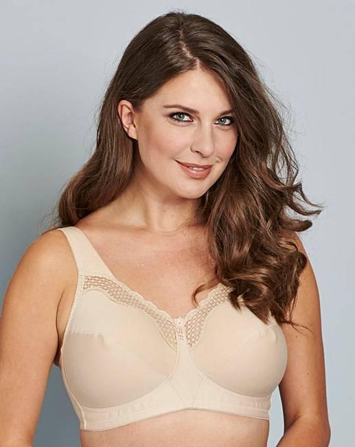 9c38f2f37ef Bestform Cotton Comfort Nude Bra | Oxendales