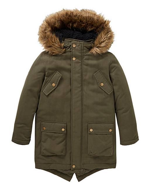 16be5f1aa Boys Parka Coat