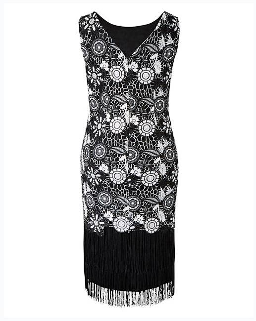 9ef393e6ec64 ... Petite Lace Dress. Click to view 'Joanna Hope' products. Rollover image  to magnify