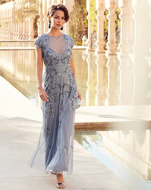2e217847 Joanna Hope Beaded Maxi Dress   J D Williams