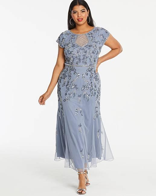 2507d93b424 Joanna Hope Beaded Maxi Dress