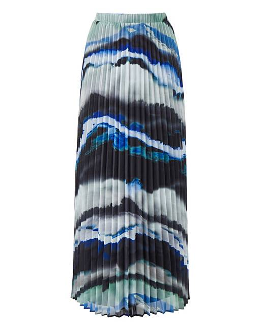 058dc2d2ea Shoptagr | Joanna Hope Print Pleated Maxi Skirt by Simply Be
