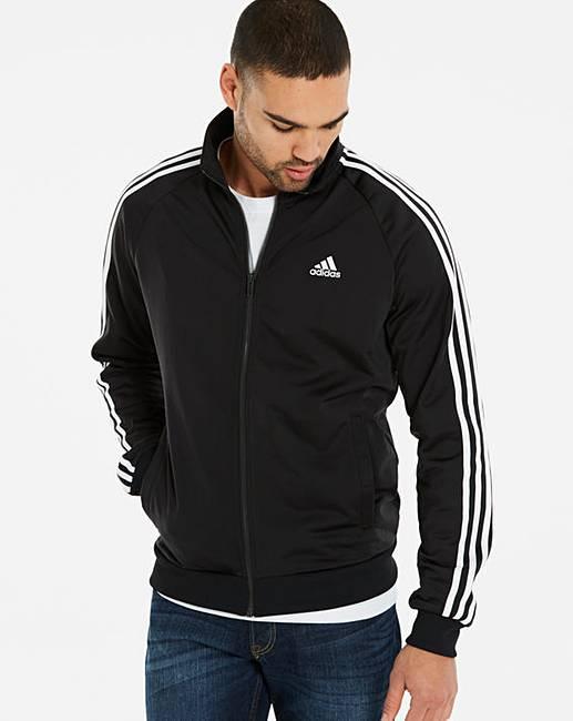 1d3b0cc02421 adidas Essential 3 Stripe Jacket