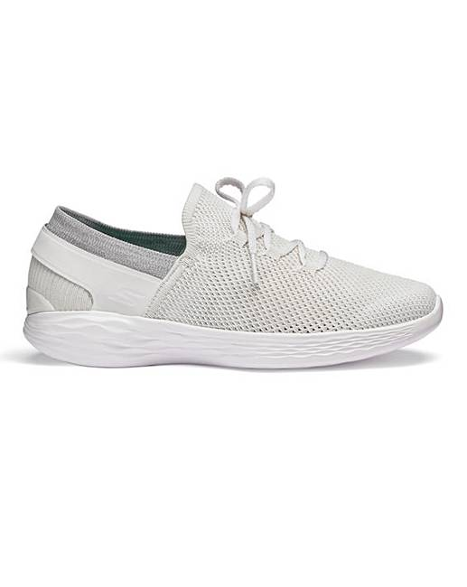 38c4ce5ea8a0 Skechers You Lace Trainers