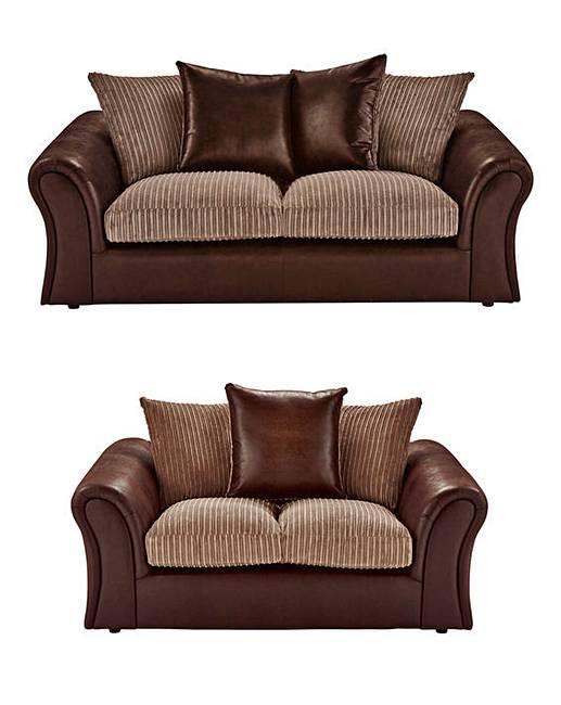 Logan 3 Plus 2 Seater Sofa