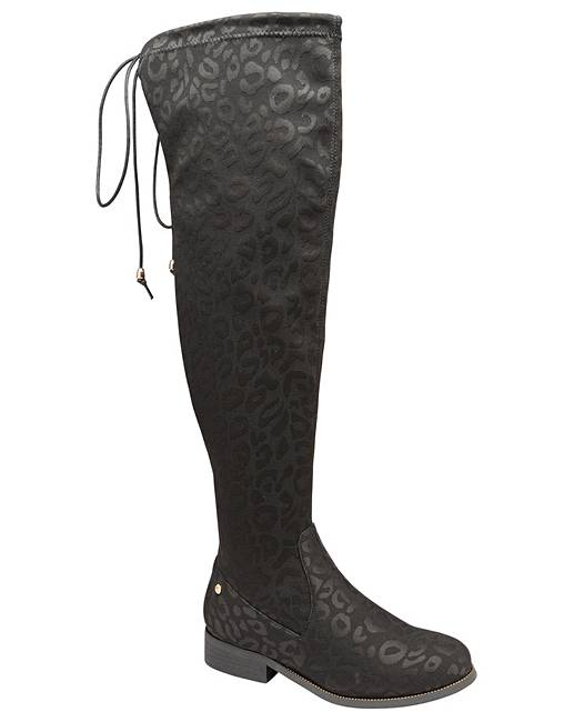 a7df093773c7 Ravel hartford black leopard print boots ambrose wilson jpg 517x650 Black  leopard print boots