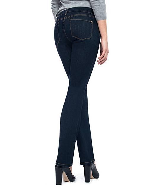 3a1513ce9ca NYDJ Marilyn Straight Dark Denim Jeans