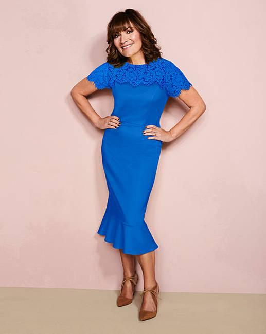 e0a5d9d69c17 Lorraine Kelly Peplum Dress
