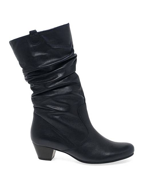b34fac004df3 Gabor Rachel Leather Calf Boots