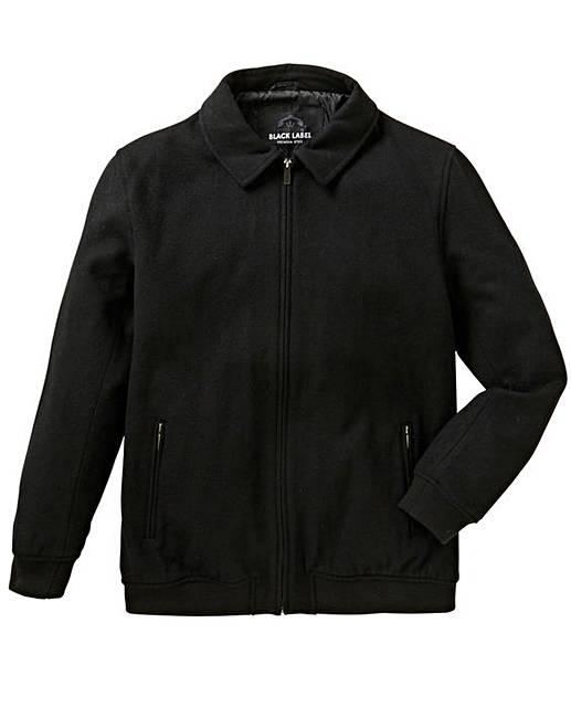 b86c49ffd Jacamo Black Label Wool Bomber Jacket R
