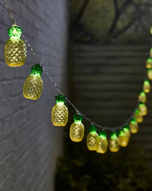 solar string lights white pineapple solar string lights williams