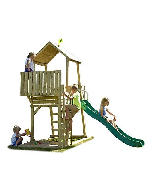 TP Kingswood Climbing Frame and Slide | J D Williams