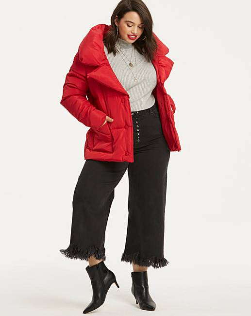 047a84214 Red Puffer Jacket