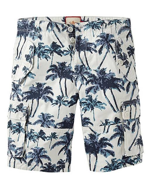 67c4395580 Joe Browns Palm Print Cargo Short | J D Williams