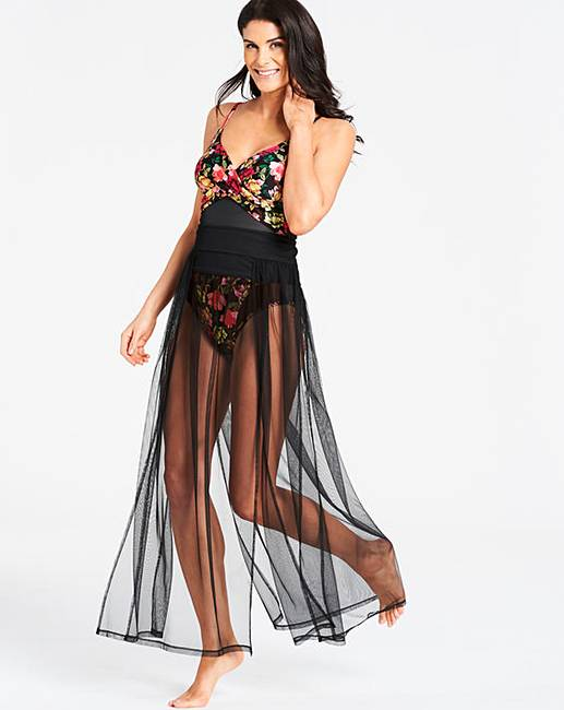 f4639064ae Joanna Hope Paradise Mesh Beach Skirt. Rollover image to magnify