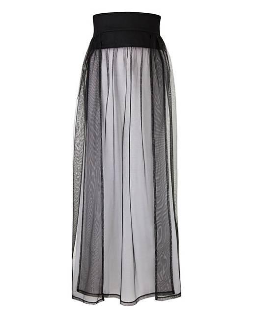 a88034d4ae Joanna Hope Paradise Mesh Beach Skirt | Simply Be