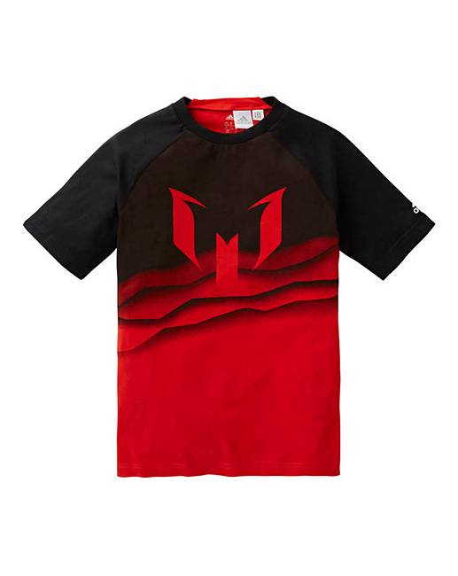 wholesale dealer 3e3c1 5a68a adidas Youth Boys Messi Graphic T-Shirt