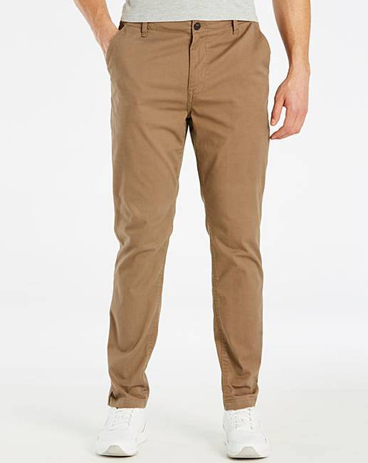Discount Fenchurch Stretch Slim Fit Chino 31 In for cheap