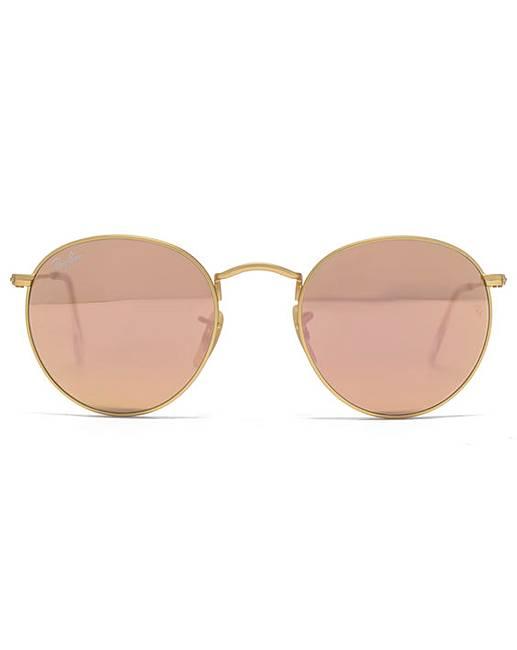 4d8e54ff72 Ray-Ban Metal Round Sunglasses