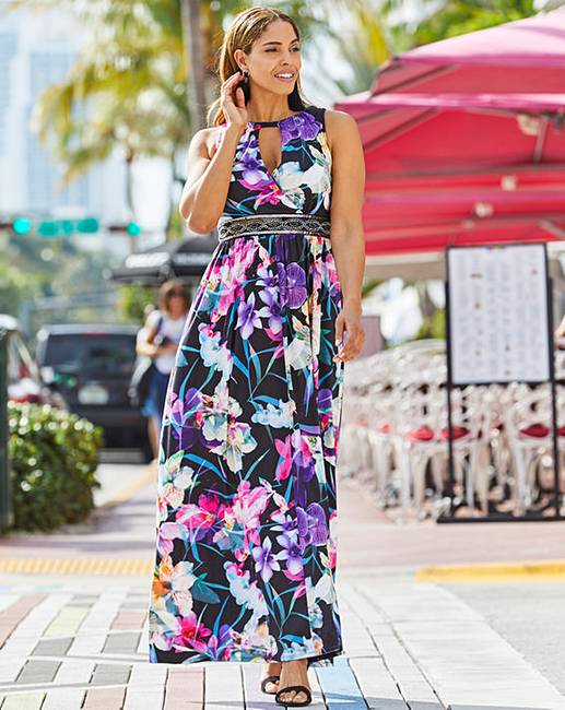 083cd0e916 Joanna Hope Print Jewel Maxi Dress. Click to view  Joanna Hope  products.  Rollover image to magnify