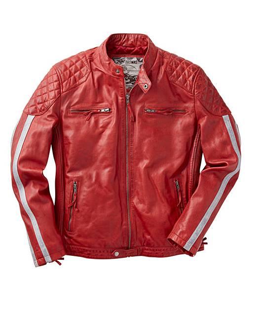 6dfe47415 Joe Browns Leather Biker Jacket