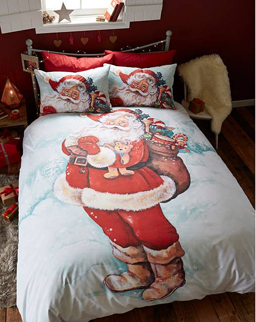Father Christmas Duvet Cover Set