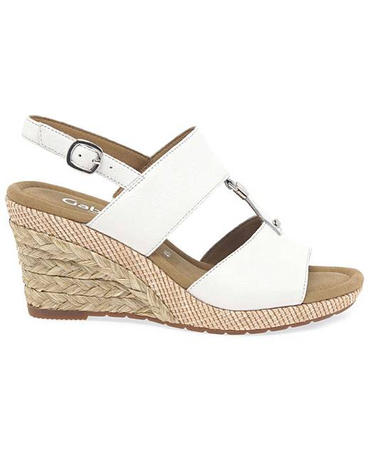 495086a85f Gabor Keira Womens Wedge Heel Sandals | Fashion World