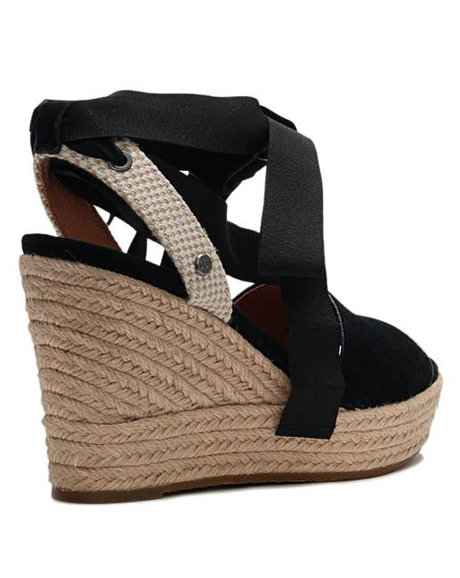 545b8547d16 UGG Shiloh Suede Wedge Espadrilles