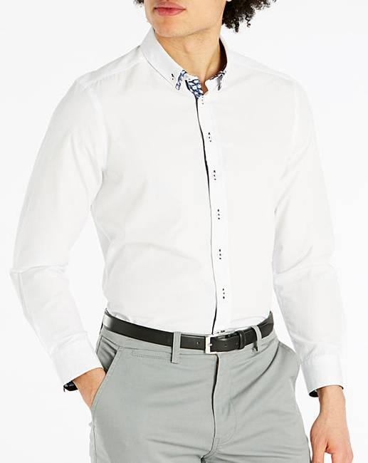 Discount Joe Browns Double Up Dobby Shirt Regular
