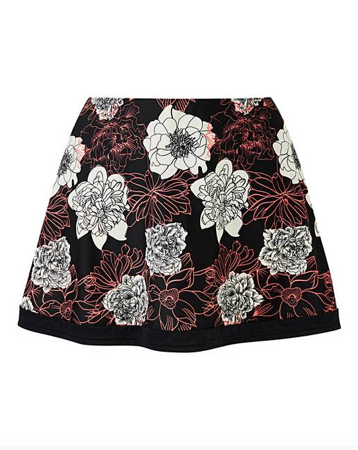 a73c4a73037 ... Black Floral Bikini Skort. Click to view 'Beach To Beach' products.  Rollover image to magnify