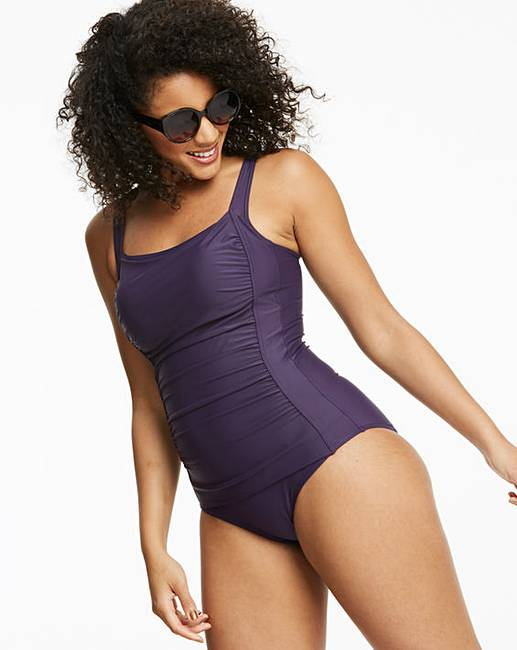 60f91e3981 Magisculpt TummyTuck Blackberry Swimsuit