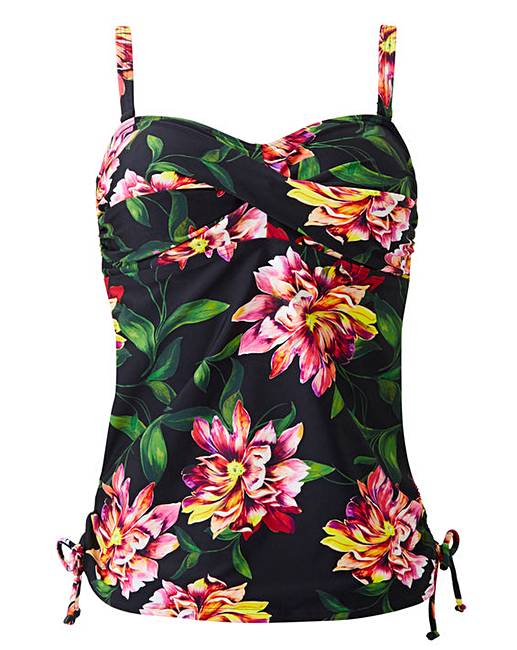3bae3ff3f0b Magisculpt Bandeau Twist Front Tankini. Click to view 'MAGISCULPT'  products. Rollover image to magnify