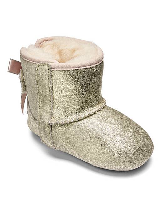 44e3081bef1 UGG Jesse Bow Metallic Booties