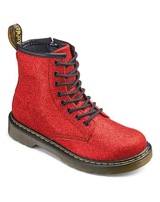 396229a88f Dr Martens 1460 Glitter Junior Boots