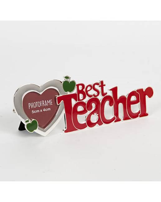 Cut out letter photo frame best teacher cut out letter photo frame best teacher spiritdancerdesigns Images