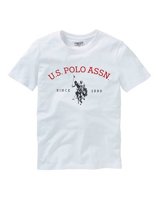 5c766b1b U.S. Polo Assn. Boys Logo T-Shirt | J D Williams