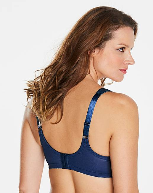 5ba268ea94 Glamorise Magic Lift Minimiser Blue Bra. Click to view  Glamorise   products. Rollover image to magnify