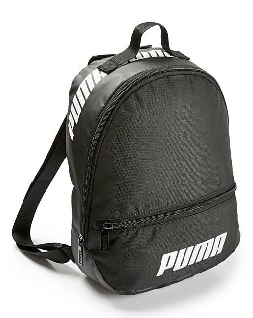 Puma Ladies Black Core Archive Backpack  36d80c5cc9382