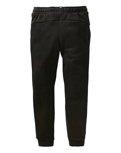 146789a1b994e6 Puma Boys Black Slim Fit Joggers | J D Williams