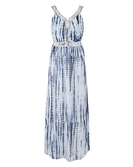 3b84bdb6 Joanna Hope Tie Dye Maxi Dress   Fashion World