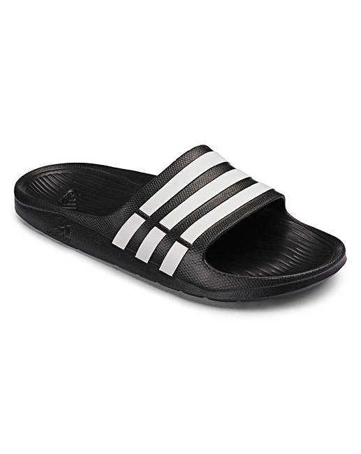 adad3a31d06c8d adidas Duramo Slider Sandals