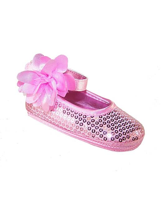 6ff2cd69920d Sparkle Club Pink Softsole Baby Shoes