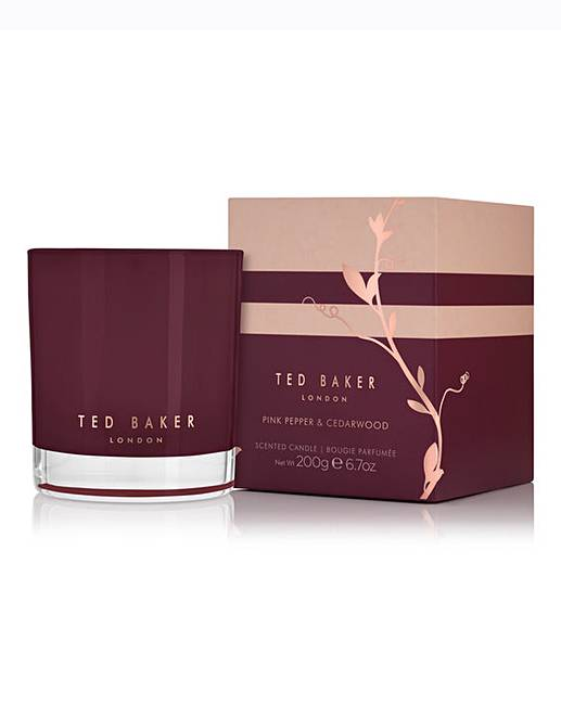 ec11fd5c85621 Ted Baker Pink Pepper Cedarwood Candle