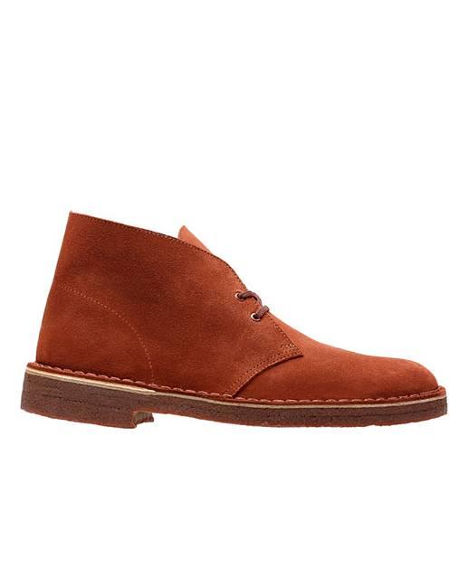 c75abbcc7de Clarks Desert Boot Boots | Simply Be