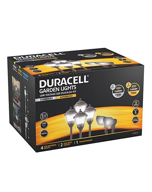 Duracell Low Voltage Led Garden Lighting Kit 6pk