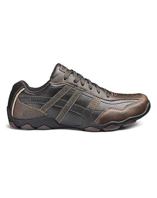 ec882490e27b Skechers Leather Lace Up Shoes