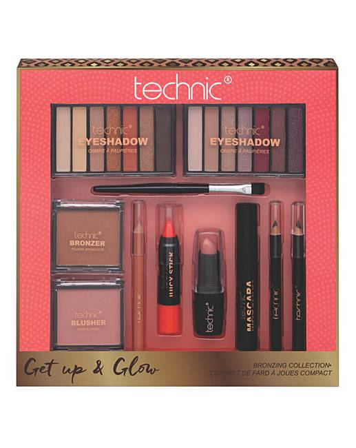 Technic Get Up And Glow Bronzing Kit J D Williams