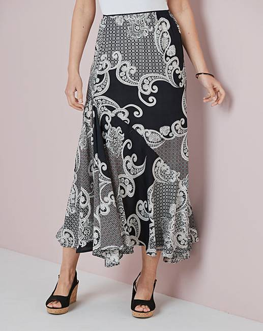 top-rated quality lowest discount buy online Printed Maxi Skirt