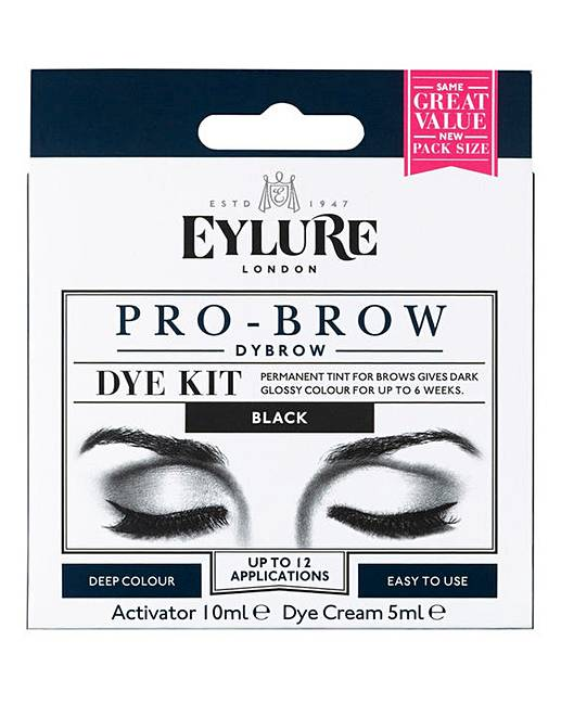 Eylure Dybrow Eye Brow Dye Kit Black J D Williams